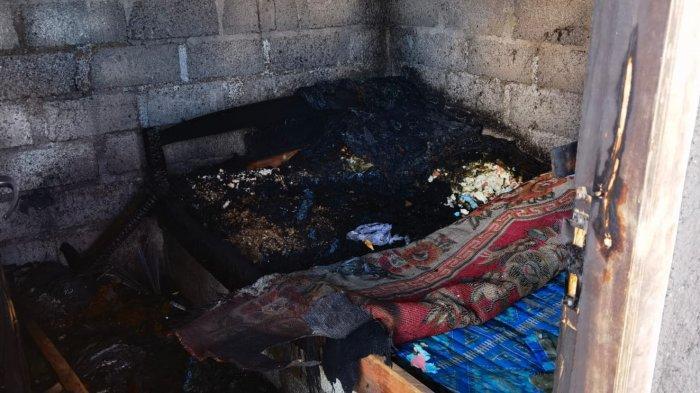 Diduga Akibat Konsleting Listrik, Rumah Nang Mulandra Kebakaran, Kerugian Capai Rp10 Juta