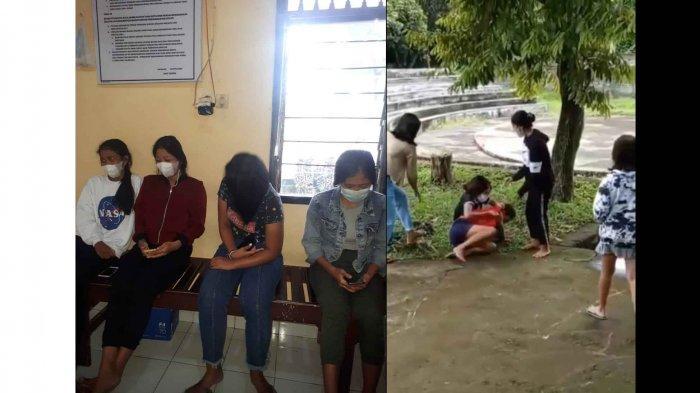 VIRAL Dua Remaja Berkelahi Gara-Gara Rebutan Pacar di RTH Bung Karno Buleleng Bali