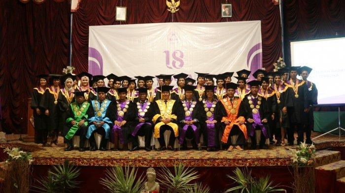 Polnas Denpasar Gelar Wisuda XVIII Program Diploma III Akuntansi dan Usaha Perjalanan Wisata