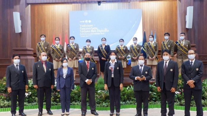 Politeknik Pariwisata Bali Sukses Gelar Yudisium Pascasarjana, Sarjana dan Diploma Secara Hybrid