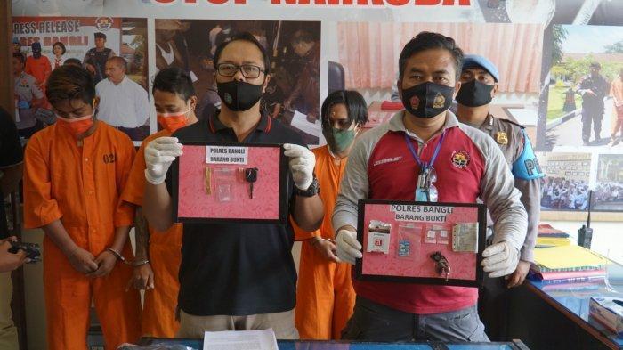 Selang Empat Hari Polisi Bekuk Tiga Pelaku Narkoba di Bangli