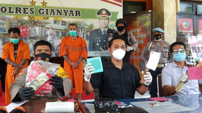 Polres Gianyar Berhasil Meringkus Komplotan Pencuri Pabrik dan Villa Pribadi dalam Waktu 6 Hari