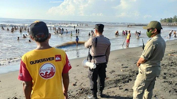 Bocah Terseret di Pantai Lebih Gianyar Mahir Berenang, Polsek Gianyar Maksimalkan Sosialisasi