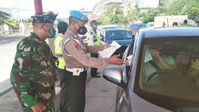 Polsek KP3 Udara Ngurah Rai Ketatkan Pemeriksaan Dokumen Syarat Bagi Calon Penumpang Pesawat
