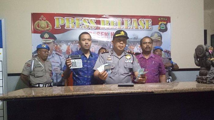Curi Uang di Money Changer di Kawasan Kuta, Tiga Orang Ini Ditangkap Polisi
