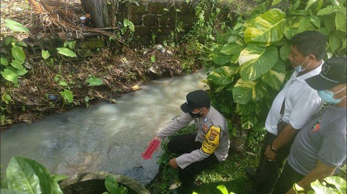 Diduga Terpleset Saat Mandi, Dadong Lepug Ditemukan Tewas di Aliran Subak Bulun Daye Tabanan