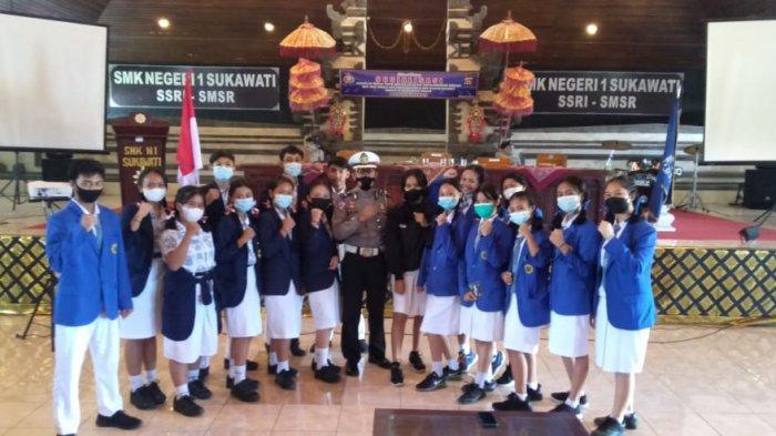 Cegah Balap Liar, Polsek Sukawati Mengundang Sejumlah Perwakilan Siswa SMA/SMK di Sukawati Gianyar