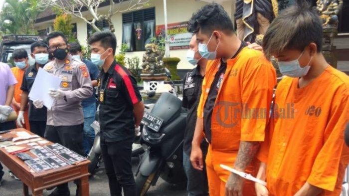 Polsek Ubud Amankan Sindikat Pencuri Motor di Bali
