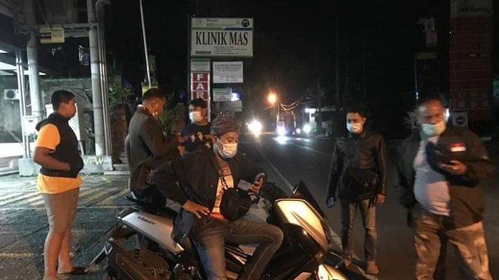 Amankan 2 Unit Kendaraan, Polsek Ubud Atensi Balap Liar di Jalan Raya Teges