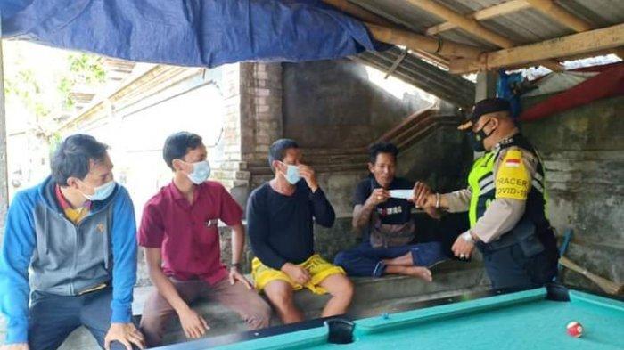Polsek Ubud Tetap Getol Sosialisasikan Prokes Covid-19