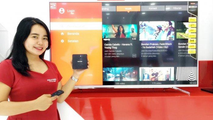 Polytron Rilis 4K Smart TV Box dengan Bluetooth Remote dan Dolby Digital support