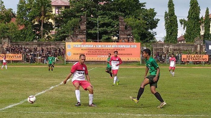 Tim SMAN 2 Denpasar Juarai Porsenijar Denpasar 2019 Cabor Sepakbola, Kalahkan SMAN 6 Denpasar