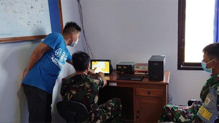 Letaknya Dinilai Strategis, Pos TNI AL Nusa Penida Kini Dilengkapi Alat Penginderaan Jarak Jauh