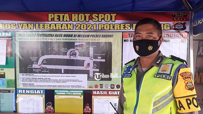 Sosialisasi Larangan Mudik 2021, Polres Badung Sebut Tidak Ada Aktivitas Pemudik di Terminal Mengwi