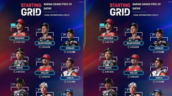 Siaran Langsung MotoGP Qatar, 4 Pebalap Ini Bersaing di Top Posisi Start Terdepan Race MotoGP 2021