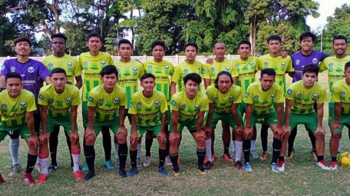 Tendangan Efek Bate Dibalas Sundulan Kadek,Poska Sidakarya vs Eks Bali United U-19 Berakhir 1-1