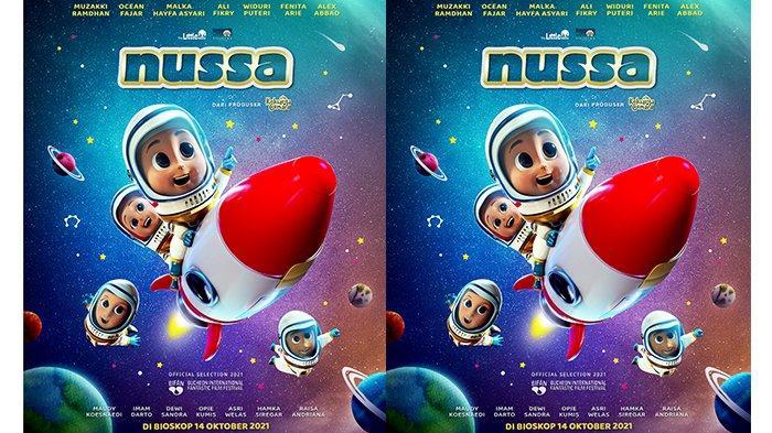 Film Animasi Nussa Tayang di Bioskop 14 Oktober 2021, Angkat Pesan-pesan Positif dan Penuh Edukasi