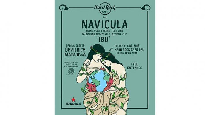 Navicula Rilis Lagu Ibu Sebagai Penghormatan untuk Bumi