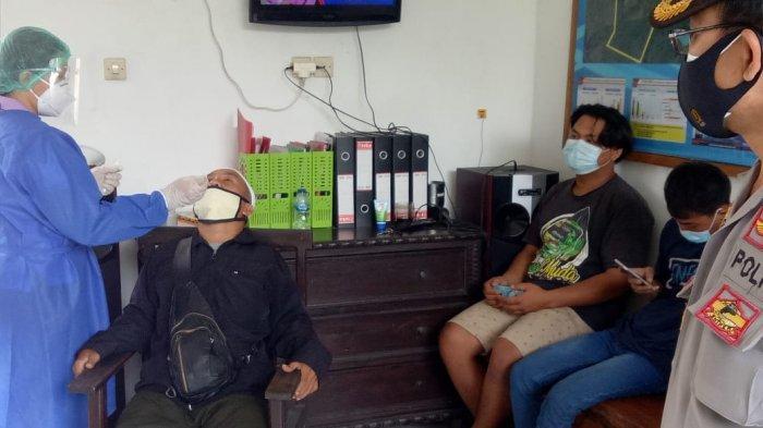 7 Orang PPDN Tak Bawa Surat Rapid Antigen Saat Arus Balik, Terjaring di Pos Adipura Tabanan Bali
