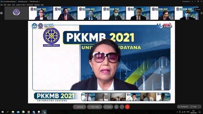 Kenalkan Kehidupan Kampus, Unud Gelar PKKMB bagi Mahasiswa Baru 2021 secara Daring
