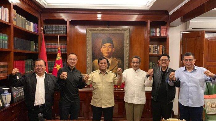 Prabowo Bubarkan Koalisi Indonesia Adil dan Makmur