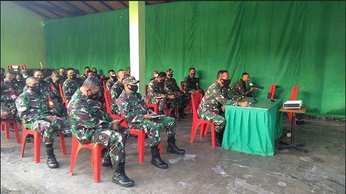 Seribu Prajurit Korem 163/Wira Satya Bertugas Jadi Tracer Covid-19 Digital dan Lapangan