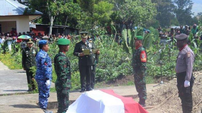 Prajurit TNI Tewas di Papua, Tulang Punggung Keluarga itu Ditembak Saat Tertidur