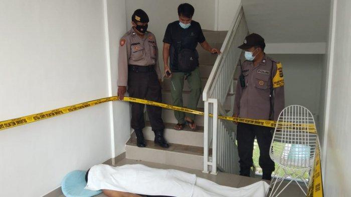 BREAKING NEWS, WNA Spanyol Ditemukan Tergantung Tak Bernyawa di Pagar Tangga Villa Pererenan