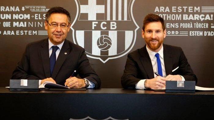 Nilai Kontrak Messi Bocor, Berikut Ini Perbandingan Gaji Messi di Barcelona dan Ronaldo di Juventus