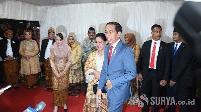 Seusai Hadiri Pernikahan Anak Khofifah, Jokowi & Istri Langsung Membesuk Wali Kota Surabaya Risma