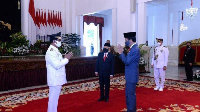 Gubernur Kepri Positif Covid-19 Usai Dilantik Presiden Jokowi,Dugaan Sementara Tertular Staf Pribadi
