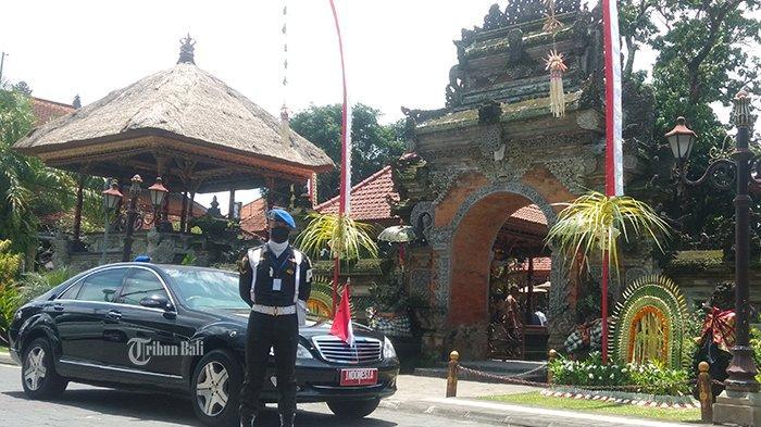 Memang Miliki Riwayat Sakit Jantung, Polisi Yang Meninggal saat Kawal Presiden Jokowi di Ubud Bali