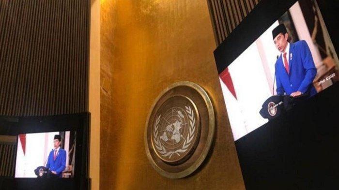 Di Sidang Umum PBB, Presiden Jokowi Ajak Semua Negara Bekerjasama demi Ketahanan Kesehatan Dunia