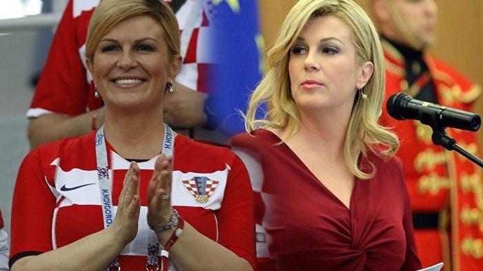 Presiden Kroasia Jadi Sorotan Saat Final Piala Dunia 2018, Disebut Berhasil Menangkan Hati Penggemar