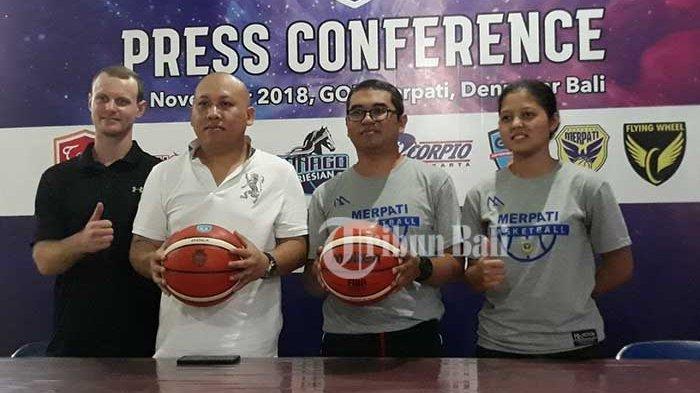 Bambang Asdianto Optimis Merpati Bali Juara Srikandi Cup Seri I