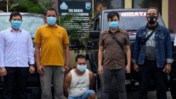 Putu Ganti Yasa Diamankan Polres Tabanan Karena Gelapkan 3 Unit Mobil dan Sepeda Motor
