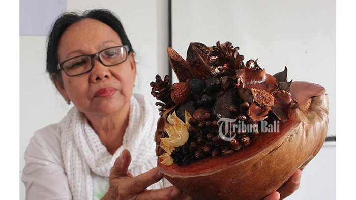 Yuliani Olah Limbah Tanaman Jadi Pengharum Ruangan Pemesan Potpourri Datang Dari Mancanegara Halaman All Tribun Bali