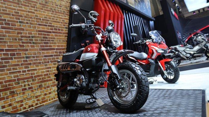 AHM Mulai Pasarkan Motor Ikonik dan Unik, Honda Monkey di Ajang GIIAS 2019