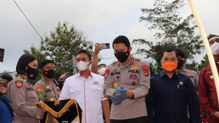 Program 100.000 Rumah dari Kapolri, Ratusan Anggota Polda Bali Turut Dapat Jatah Hunian Tetap