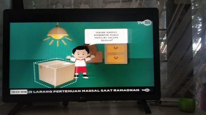 SEDANG BERLANGSUNG Live Streaming TVRI Online Belajar dari Rumah, Link dan Jadwal Materi di Sini