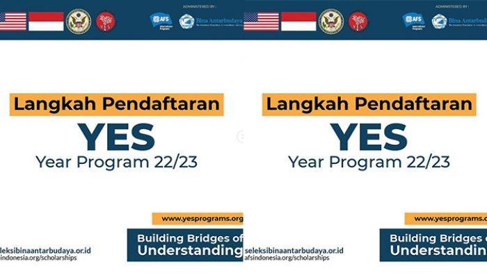Program YES, Pertukaran Pelajar SMA ke Amerika, Beasiswa Penuh, Simak Syarat dan Cara Daftar