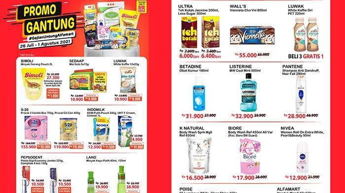 Promo Alfamart 1 Agustus 2021, Minyak Goreng Bimoli 2L Rp27.300, Diapers Murah, Pepsodent Rp10.500