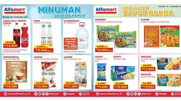 PROMO Alfamart 11-14 Oktober 2021: Cimory Yogurt 250ml Rp7.900, Keju, Mi Instan, Kopi, Biskuit Hemat