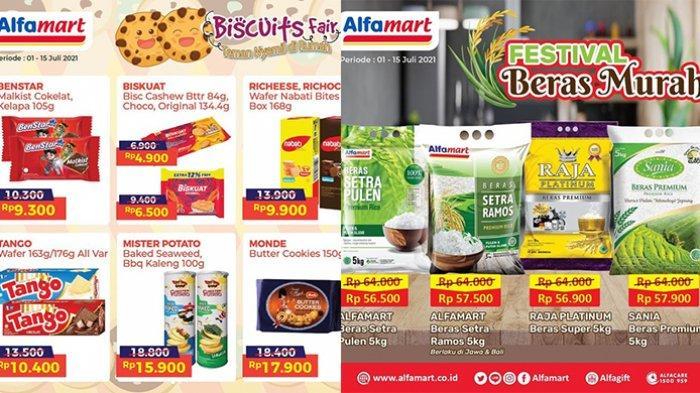 Promo Alfamart 13 Juli 2021, Festival Beras Murah, Diskon SGM hingga Bebelac, Body Care Diskon 50%