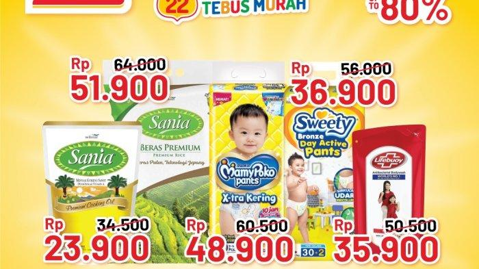 Promo Alfamart 14 Oktober 2021, Beras Murah, Cooking Fair Diskon 50%, Minyak Goreng Sania Rp23.900