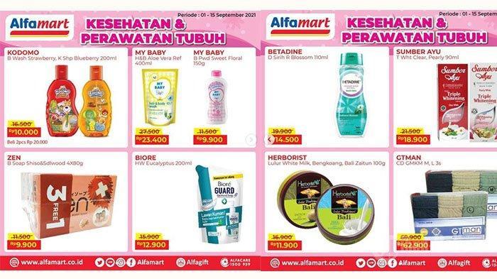 SEGERA BERAKHIR! PROMO Alfamart 14-15 September 2021: Biore Body Wash Rp12.900, Celana Dalam Diskon