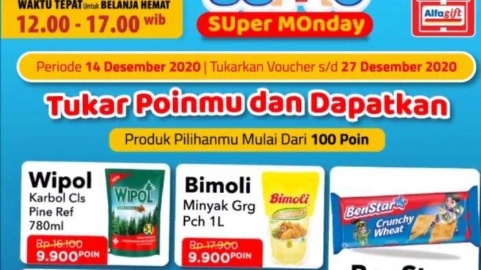 Promo Alfamart 14 Desember 2020, Diskon Susu hingga Beras, Tukar Poin Dapat Minyak Goreng & Kecap