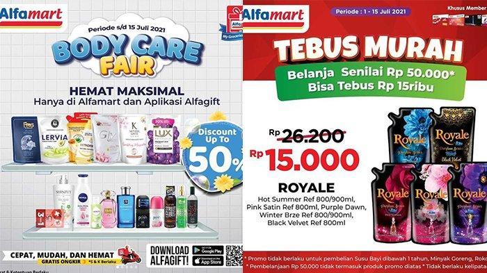 Promo Alfamart 14 Juli 2021, Sabun, Parfum Diskon 50%, Tebus Murah SoKlin Royale 800Ml Rp15.000