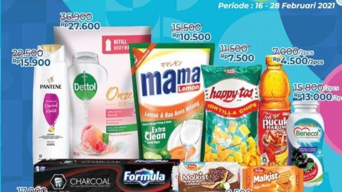 Promo Alfamart 17 Februari 2021, Banyak Diskon, Beli 2 Gratis 1, Sampo Pentene 130 ml Rp15.900
