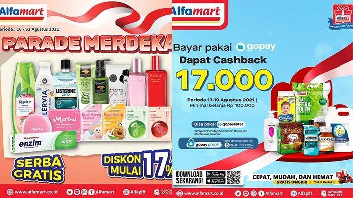 Promo Alfamart 18 Agustus 2021, Beras, Popok Cashback Rp17.000, Sampo, Parfum, Lotion Diskon 17%